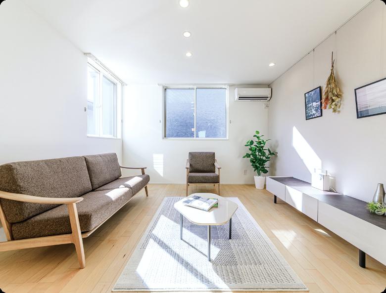 スタイル別の家具パッケージオプション
