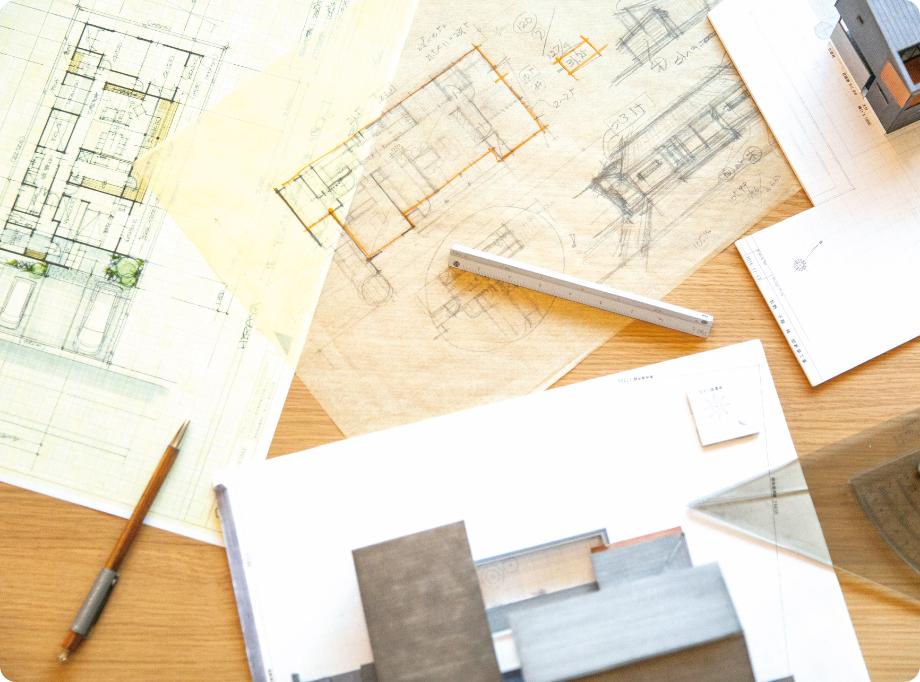 フルオーダー住宅の設計士による設計